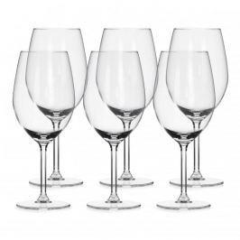 Kieliszki do wina czerwonego szklane ROYAL LEERDAM BRYLANT 530 ml 6 szt.
