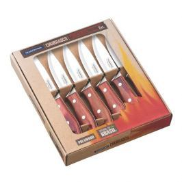 Noże do steków ze stali nierdzewnej TRAMONTINA CHURRASCO BORDOWE 6 szt.