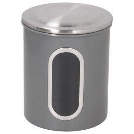 Puszka na kawę metalowa FLORINA COLIBER SZARY 1,7 l