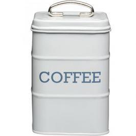 Puszka na kawę metalowa KITCHEN CRAFT LIVING NOSTALGIA SZARY