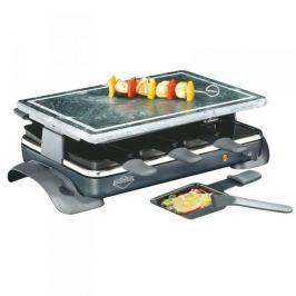 Grill elektryczny raclette kamienny KUCHENPROFI HOT STONE CZARNY 1200 W