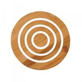 Podkładka pod garnek drewniana LADELLE CLASSIC OKRĄGŁA BIAŁA 20 cm