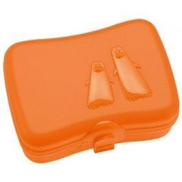 Lunch box plastikowy KOZIOL PING PONG POMARAŃCZOWY