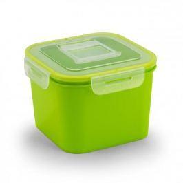 Pojemnik na żywność plastikowy BRANQ QLOCK ZIELONY 0,7 l