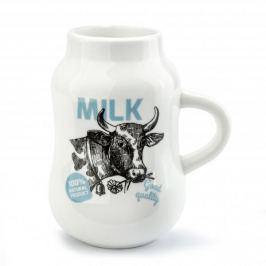 Kubek ceramiczny DAIRY COW BARYŁKA BIAŁY 280 ml