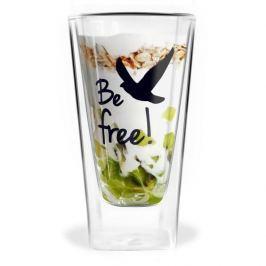 Szklanka do kawy i herbaty szklana z podwójnymi ściankami VIALLI DESIGN VITA FREE 300 ml