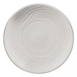Talerz do serwowania przekąsek porcelanowy REVOL ARBORESCENCE BIAŁY 26 cm