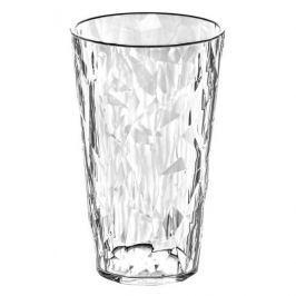 Kubek na zimne napoje plastikowy KOZIOL CRYSTAL PRZEZROCZYSTY 450 ml