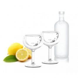 Kieliszki do wódki termiczne szklane VIALLI DESIGN AMO 30 ml 2 szt.
