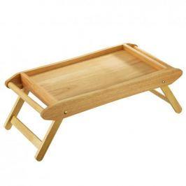 Stolik śniadaniowy do łóżka drewniany ZASSENHAUS KAUCZUK 69 x 35 cm