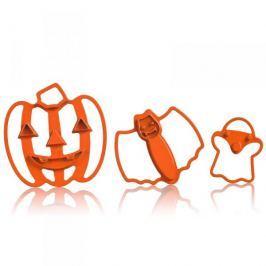 Foremki / Wykrawacze do ciastek i pierników plastikowe CUISIPRO HALLOWEEN 3 szt.