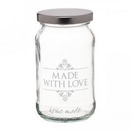 Mały słoiczek szklany KITCHEN CRAFT LOVE 0,45 l