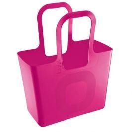 Torba na zakupy plastikowa KOZIOL TASCHE XL RÓŻOWA