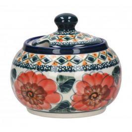 Cukiernica ceramiczna GU-694 DEK. 124 ART. Bolesławiec 300 ml