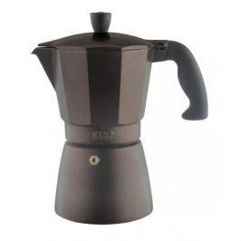Kawiarka aluminiowa ciśnieniowa ZEST FOR LIFE BEAN BRĄZOWA - kafetiera na 3 filiżanki espresso