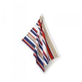 Ręcznik kuchenny bawełniany KELA FRIDA PASKI WIELOKOLOROWY 70 x 50 cm