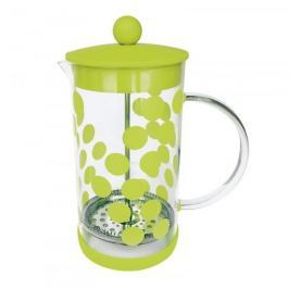 French press / Zaparzacz do kawy tłokowy szklany ZAK DESIGNS DOT ZIELONY 0,35 l
