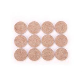 Podkładki pod meble samoprzylepne filcowe TESCOMA PRESTO CIRCLE SZARE 2,5 cm 24 szt.
