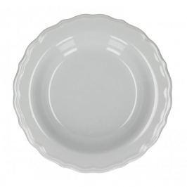 Talerz obiadowy głęboki ceramiczny AFFEK DESIGN PASTELS SZARY 23 cm