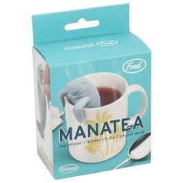 Zaparzacz do herbaty silikonowy INVOTIS MANATEA SZARY