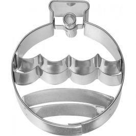 Foremka / Wykrawacz do ciastek metalowy BIRKMANN BOMBKA CHOINKOWA MAŁA 6,5 cm