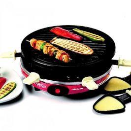 Grill elektryczny raclette aluminiowy ARIETE PARTY CZARNY 900 W