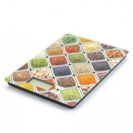 Waga kuchenna elektroniczna szklana FRUIT WIELOKOLOROWA