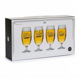 Pokale do piwa szklane SAGAFORM CLUB 420 ml 4 szt.