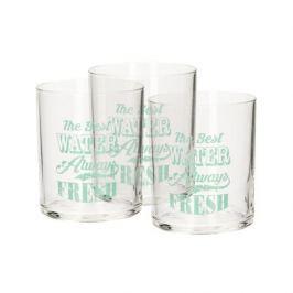 Szklanki do napojów szklane BORMIOLI ROCCO VINTAGE COLLECTION 3 szt. 250 ml