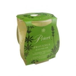 Świeca zapachowa woskowa w szkle PRICE'S CANDLES PROVENCE ZIELONA