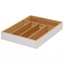 Organizer / Wkład do szuflady na sztućce drewniany WOOD MIX KOLORÓW 35 x 26 cm