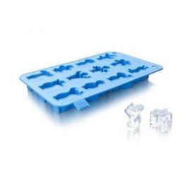 Forma do kostek lodu silikonowa VACU VIN IMPREZOWE LUDKI NIEBIESKIE