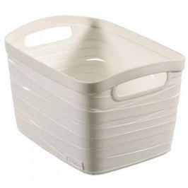 Koszyk plastikowy CURVER RIBBON S KREMOWY