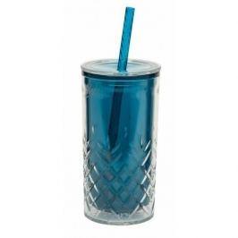 Kubek do zimnych napojów ze słomką ALADDIN MORSKI 470 ml