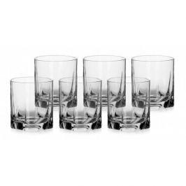 Szklanki do whisky PASABAHCE LUNA MAŁE - komplet 6 kieliszków