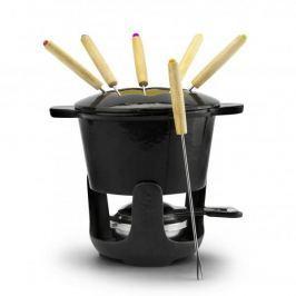 Zestaw do fondue żeliwny ZEST FOR LIFE BERNE CZARNY