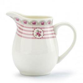 Mlecznik / Dzbanek do mleka porcelanowy FLORINA TWINS BIAŁY 250 ml