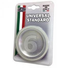 Uszczelki z sitkiem do kawiarki silikonowe GAT UNIVERSAL BIAŁE 8 cm 2 szt.