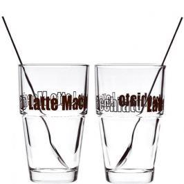 Zestaw do kawy latte macchiato LEONARDO SOLO