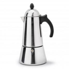 Włoska kawiarka stalowa ciśnieniowa  GAT KONICA - kafetiera na 10 filiżanek espresso