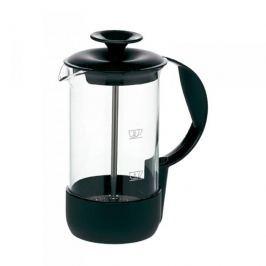 French press / Zaparzacz do kawy tłokowy szklany EMSA NEO CZARNY 1 l