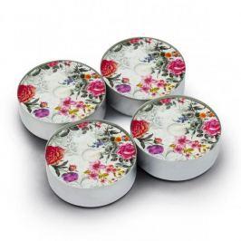 Świeczki tealight woskowe PAW ROYAL ROSE DUŻE WIELOKOLOROWE 4 szt.