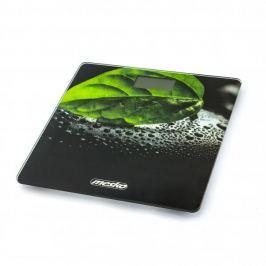 Waga łazienkowa elektroniczna szklana MESKO PLUSTAM CZARNA 30 x 30 cm