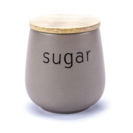Pojemnik na cukier ceramiczny FLORINA SABBIA BRĄZOWY 0,8 l