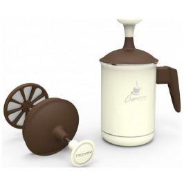 Spieniacz do mleka aluminiowy PEDRINI KREMOWY 0,5 l