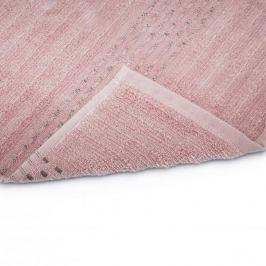Ręcznik łazienkowy do rąk bawełniany MISS LUCY PAVIA RÓŻOWY 30 x 50 cm