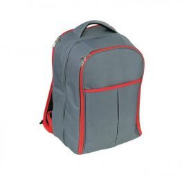 Plecak piknikowy termiczny z wyposażeniem poliestrowy CILIO GARDA SZARY 24 el.