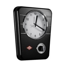 Zegar ścienny ze stali nierdzewnej WESCO TIMER CZARNY 30,5 x 24,5 cm