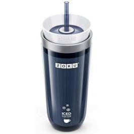 Kubek termiczny plastikowy ZOKU ICED COFFEE MAKER GRAFITOWY 260 ml