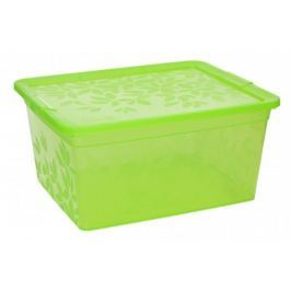 Pojemnik plastikowy na żywność BRANQ JASMINE PROSTOKĄTNY MIX KOLORÓW 2 l